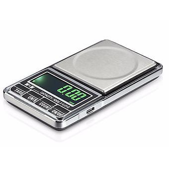 Scala tascabile LCD digitale da 100g