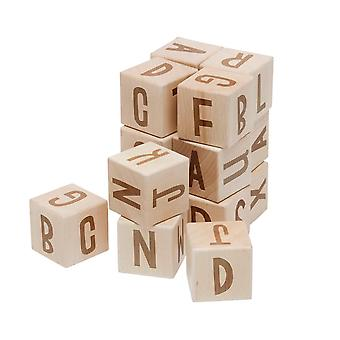 Sebra - wooden alphabet blocks