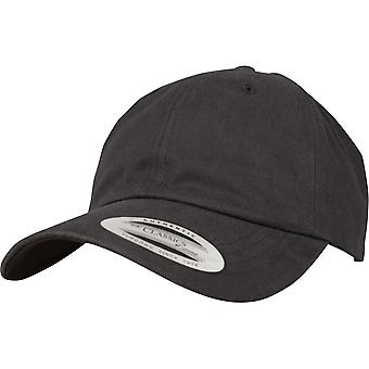 Flexfit by Yupoong Mens Peached Cotton Twill Baseball Cap