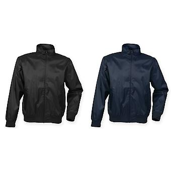 Henbury Mens Harrington Showerproof & ventilerande jacka