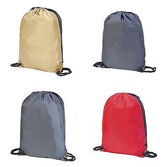 Shugon Stafford Contrast Drawstring Bag (Pack of 2)