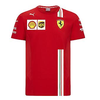Scuderia Ferrari Men's Puma Replica Team T-Shirt | 2020