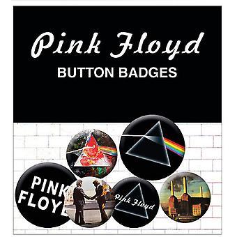 Pink Floyd Albums et Logos animaux nouveau Badge officiel Pack (4 x 25mm & 2 x 32mm)