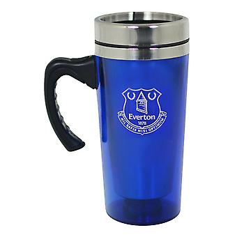Everton FC Official Football Crest Aluminium Travel Mug