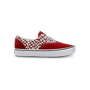 فانس - أحذية - أحذية رياضية - ComfyCushERA_VN0A3WM9V9Z1 - للجنسين - أحمر، أبيض - الولايات المتحدة 10.5