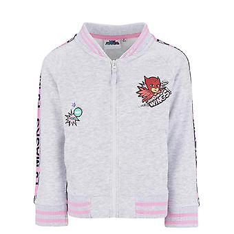 Pj masks girls sweatjacket grey