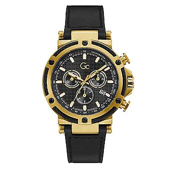 GC Y54007G2MF Men's Urbancode Yachting Gold Tone Wristwatch
