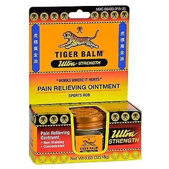 Tiger balm ultra strength sports rub, concentrated, 0.63 oz