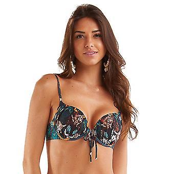 Mar Rio - Influencia Japonesa Bikini Top - Multicolore