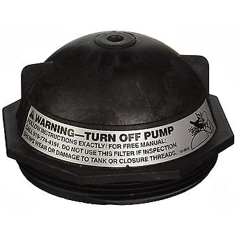 """Pentair 152519Z 6"""" Dome Buttress Thread Closure -Black for Triton II Sand Filter"""
