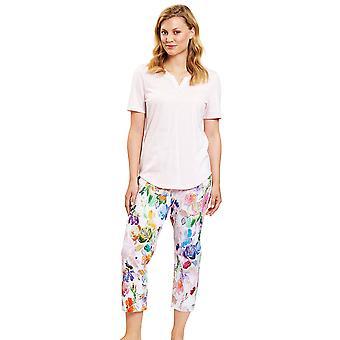 Rösch 1203119-15646 Women's New Romance Fancy Çok Renkli Çiçek Pijama Takımı
