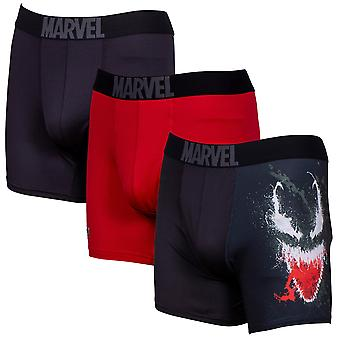 Venom Performance Mesh Underwear Boxer Briefs 3-Pair Pack