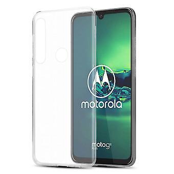 Hülle für Motorola MOTO G8 PLUS Flexible TPU Silikon Handyhülle - Cover - ultra slim