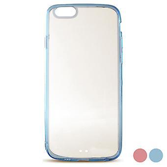 Caixa de celular com TPU Edge Iphone 6/6s KSIX Fusion/Transparent