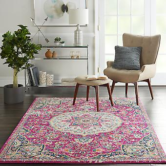 Passion Nourison PSN22 PINK Rectangle Rugs Funky Rugs