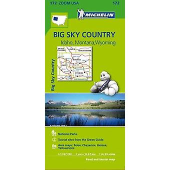 Big Sky Countries Zoom Map 172 (1st) - 9782067190801 Book