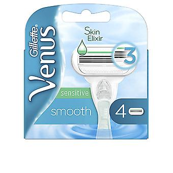 Gillette Venus Smooth Sensitive Cargador 4 Uds voor dames
