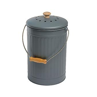 Eddingtons 7 Liter Compost Emmer, Houtskool