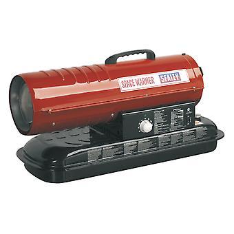 Sealey Ab708 espaço aquecedor parafina querosene & aquecedor Diesel 70Kbtu/Hr sem rodas