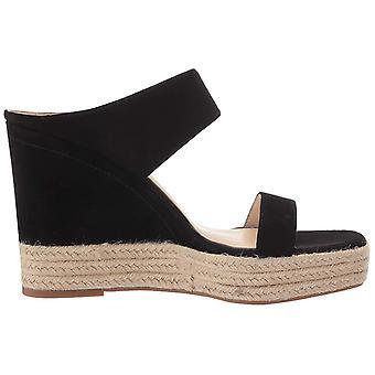Jessica Simpson Womens siera Leather Open Toe Casual Platform Sandals