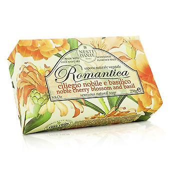 Nesti Dante Romantica zmysłowe Naturalne mydło - szlachetny wiśni & bazylią 250g/8,8 oz