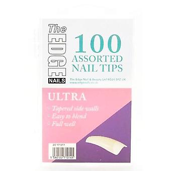 The edge ultra tips 100 asstd (boxed)