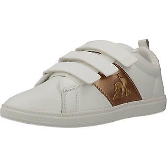 Le Coq Sportif Courtclassic Ps Girl Color Opticwht Shoes