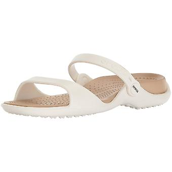 Crocs Women's Shoes Cleo Open Toe Casual Slide Sandals
