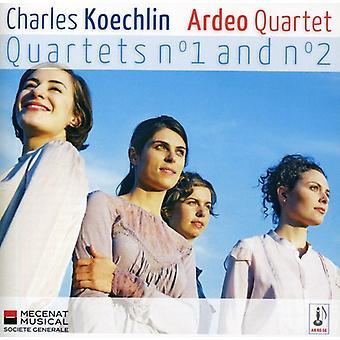 Charles Koechlin - Koechlin: String Quartets Nos. 1 & 2 [CD] USA import