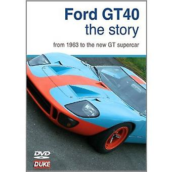 Ford Gt Story [DVD] USA import