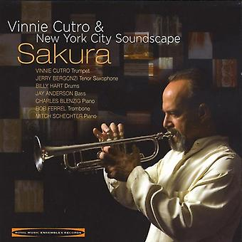 Vinnie Cutro & New York City ljudlandskap - Sakura [CD] USA import