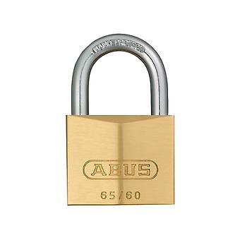 ABUS 65/60mm Brass Padlock Carded ABU6560C