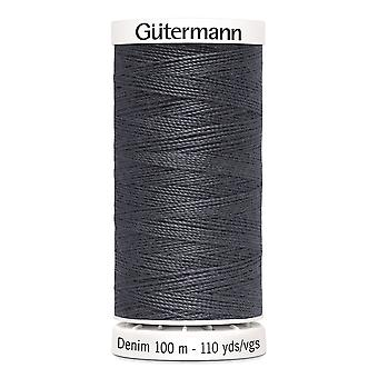 Gutermann Denim 100m No.50 Polyester Thread for Hand and Machine - Colour 9455