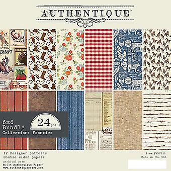 Authentique Frontier 6x6 Inch Paper Pad