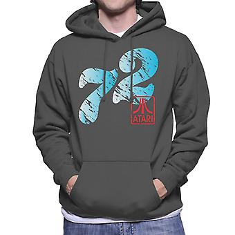 Atari Distressed 72 Men's Hooded Sweatshirt