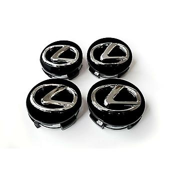 LX03 - 62MM 4-pack Center Hoods Lexus
