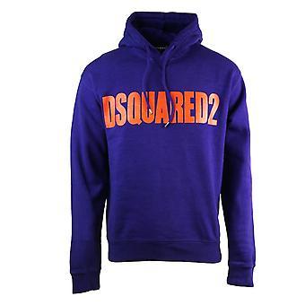 Dsquared2 Uusi Dan Fit Suuri Logo Purple Huppari