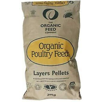 Allen & Page Organic Poultry Layers Pellets With Omega 3 - 20kg