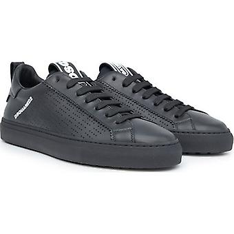 Dsquared2 Leather Perforated Sneakers