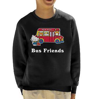 Hello Kitty Buss Venner Kid's Sweatshirt