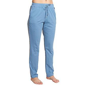 Féraud Casual Chic 3201206-16361 Kvinnor's Skyblue Bomull Pyjama Byxa