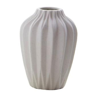 Ceramic Vase Frosted Stoneware Vase Without Neck Home Garden Decor