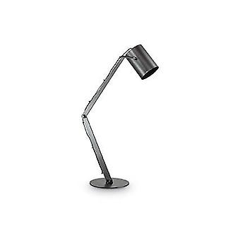 1 Lampada da tavolo regolabile a luce Nero, E27