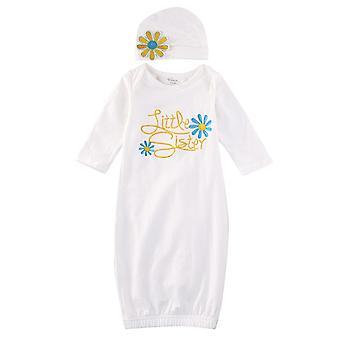 Vastasyntyneet vauvanvaatteet, puku kylpytakki