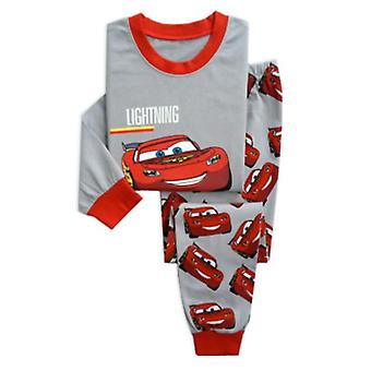 Children's Pajamas, Spring, Long Sleeve T Shirt+pant, Baby Sleepwear Set