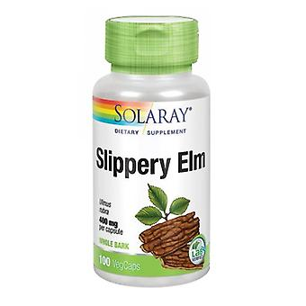 Solaray Slippery Elm, 400 mgs, 100 Caps
