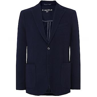 Circolo 1901 Virgin Wool Blend Textured Jacket