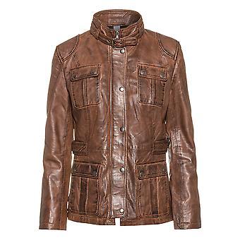 Women's leather jacket Daria