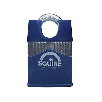 Henry Squire Warrior High-Security Closed Shackle Padlock 45mm HSQW45CS