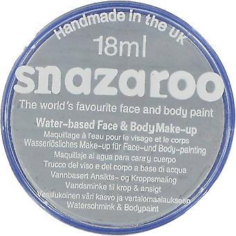 Snazaroo Halloween Fancy Dress Accessories - Classic Colours Water Based Face & Body Paint - Dark Grey 18ml